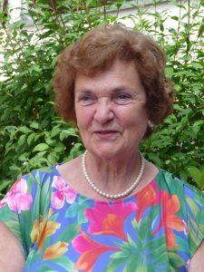 Ursula Ulrike Storks, Jg. 1939, hier im Juli 2018