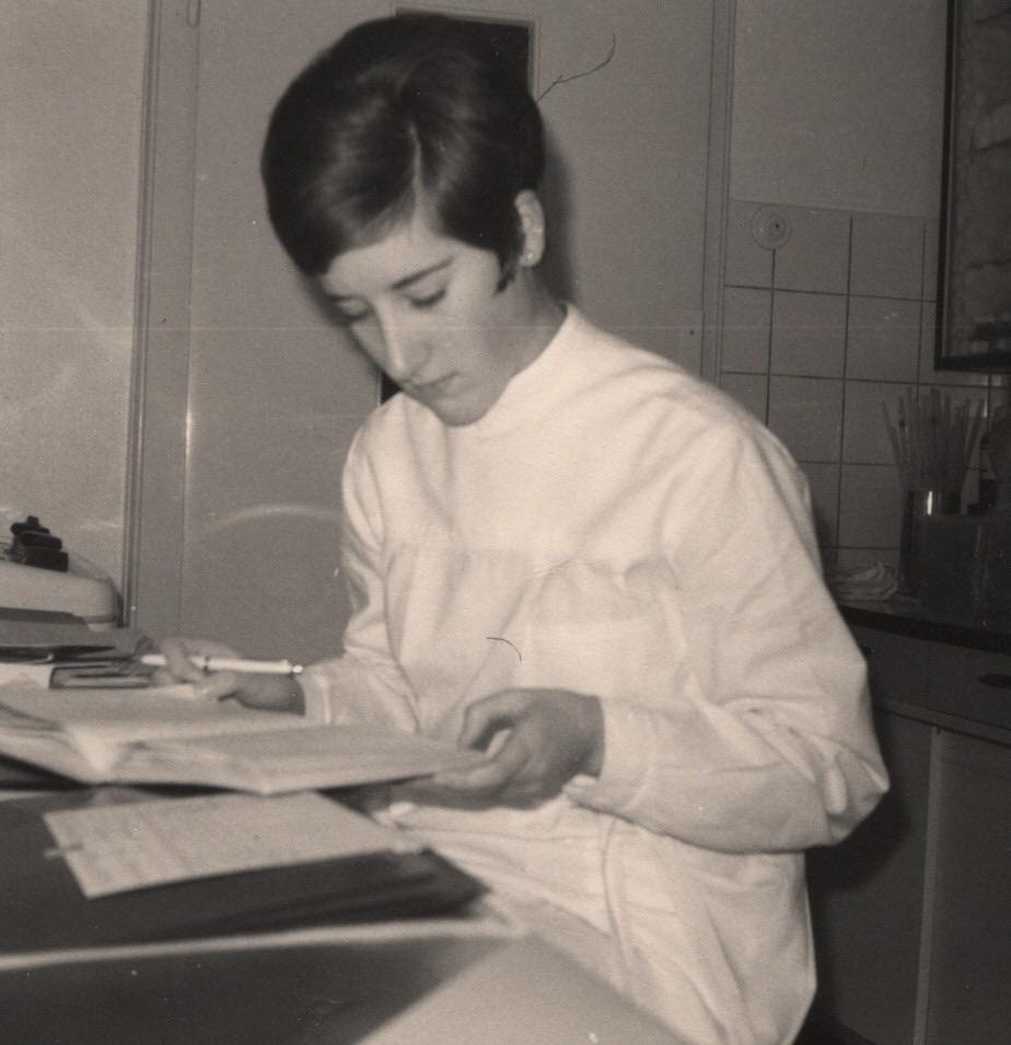 Jutta Loose im Beruf, Oktober 1967