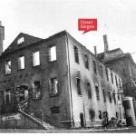 Das ausgebombte Rathaus in Siegen, 1944/1945. Mit freundlicher Genehmigung des Stadtarchivs Siegen, Bestand 704, Fo 272