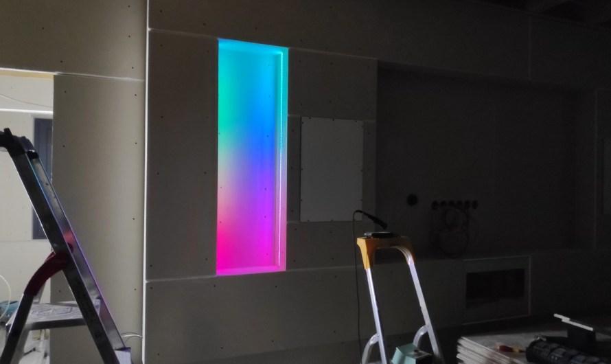 Wohnwand LED Profile / WLED RGBW