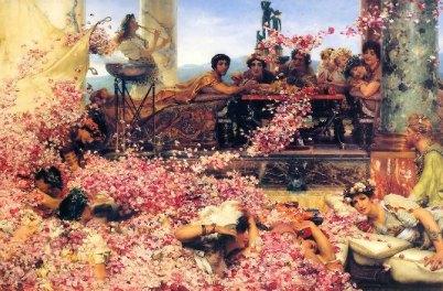 Las-Rosas-de-Heliogabalo- Museo-Thyssen-Alma-Tadema
