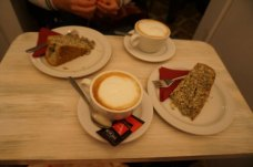 Tartas y cafés de Juanse Kafe