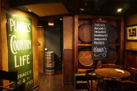 Interior de HamburguesO´Hara´s Irish Pub