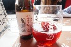 Cerveza de frutos rojos