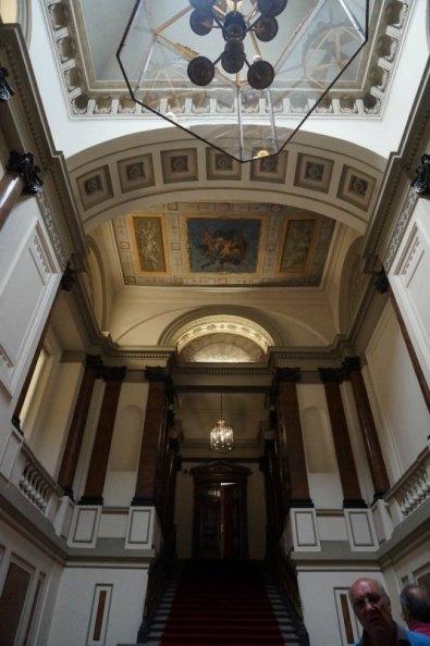 Escalera del Palacio de Godoy