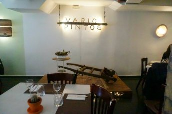 Interior restaurante Variopintos