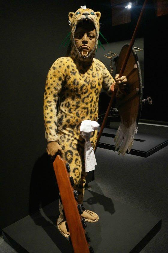 guerrero jaguar exposicion hernan cortes