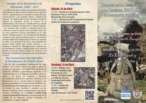 Jornadas Recreacion Historica Barajas