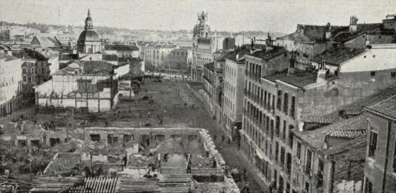 1910.Derribos GranVia
