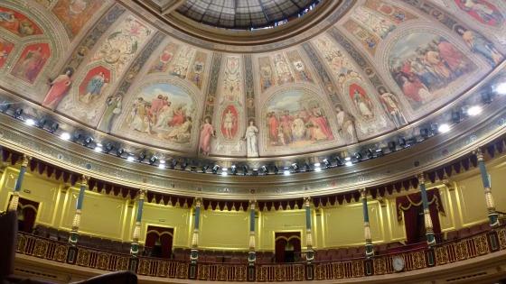 Interior Congreso de los Diputados