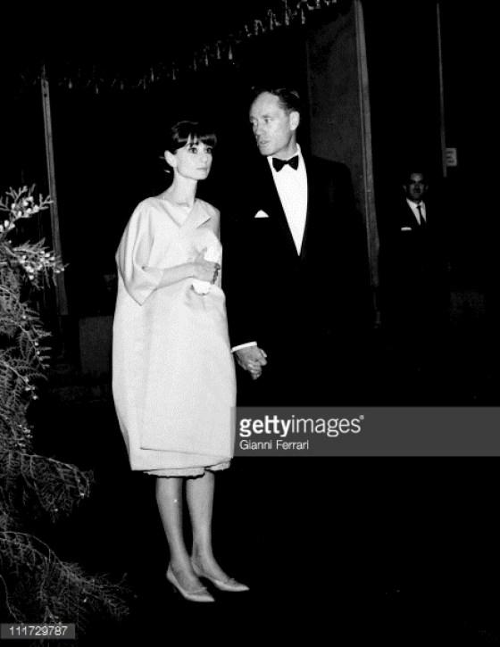 1966. Audrey y Mel Ferrer en Madrid