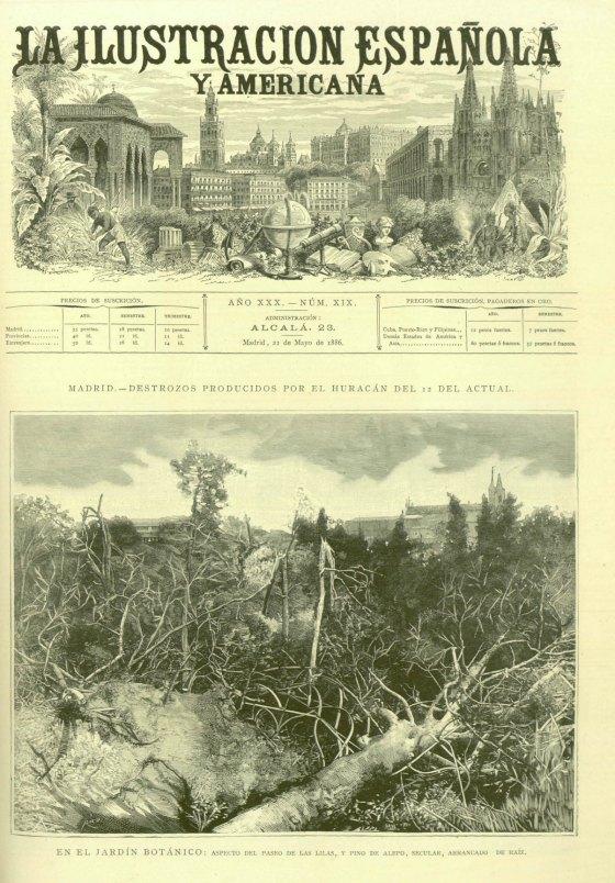 El tornado de Madrid 1886