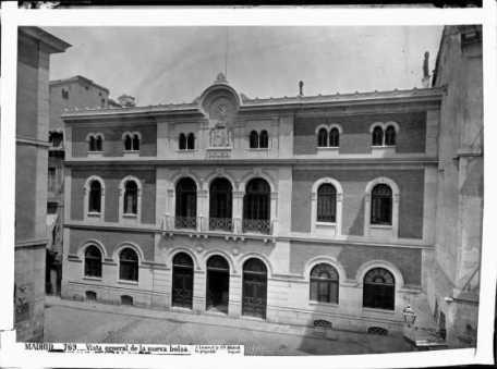 Antigua Bolsa de Madrid
