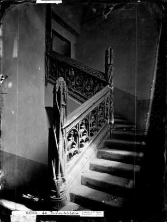 Escalera del Hospital de la Latina