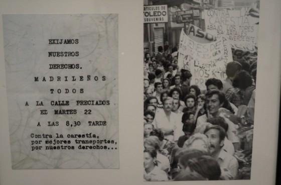 Manifestacion Calle Preciados