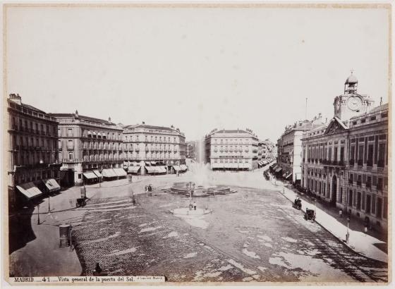 Puerta del Sol. J.Laurent
