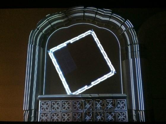 <em>Presentación de los restos del Monasterio del San Jerónimo el Real en el Museo de San Isidro. Foto propia</em>