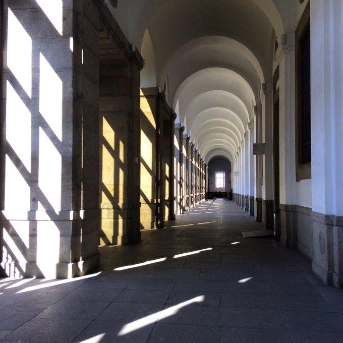 Interior del Museo Reina Sofía. Foto propia
