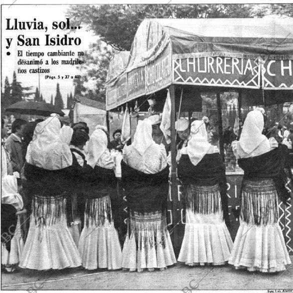 Portada ABC 1982. Fiestas de San isidro