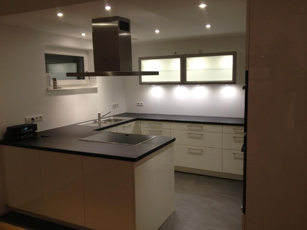 Einbaustrahler Küche Anordnung  Deckenstrahler Led Wohnzimmer