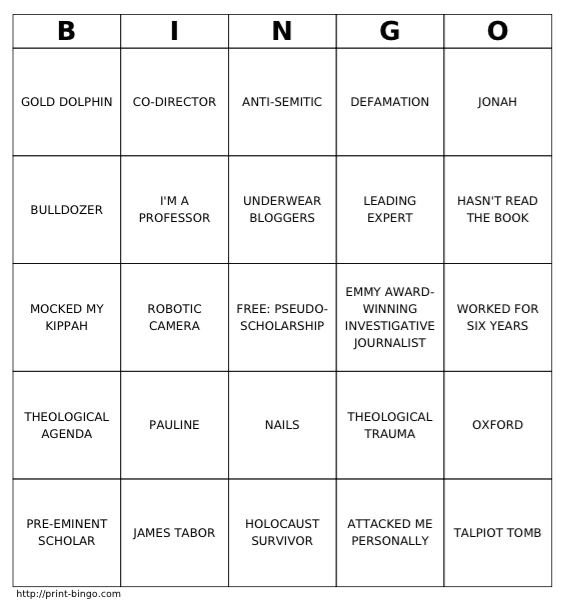 simcha press conference bingo