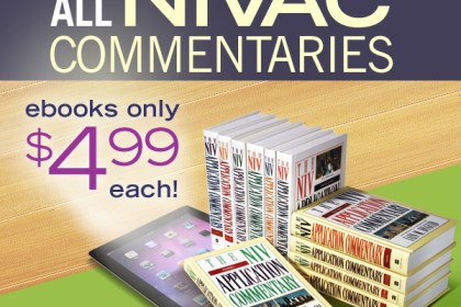 .@ZonderAcademic has all of their NIVAC commentaries on sale #ebook