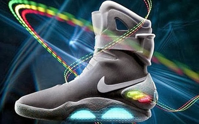 Marty McFly's Power Laces Coming in 2015