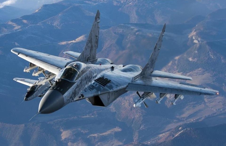MiG-29 Fighter Jet