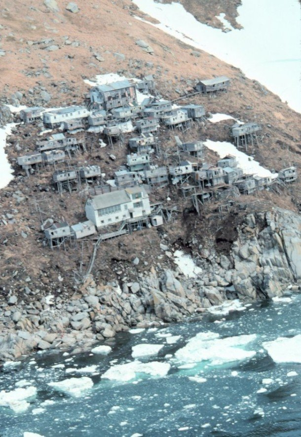 Creepy Abandoned Ghost Town In Bering Sea