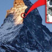 Awesome Hut Near The Summit of Matterhorn At 12,000 feet