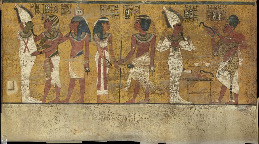 Queen Nefertiti's Tomb Still Intact Next to Tutankhamun's