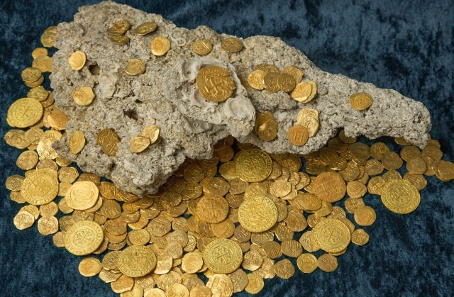 uncovered $1 million worth of 60 gold coins