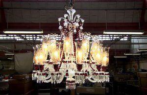 Watch How Crystal Blowers Make This Chandelier