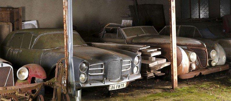 Vintage Cars Found