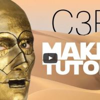 The C3PO Makeup Tutorial Which I Think You Don't Need