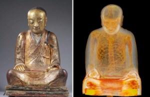Buddha Statue Reveals Mummified Monk Hidden Inside