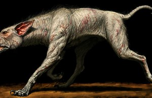 7-Foot Tall Hellhound Skeleton Unearthed in UK