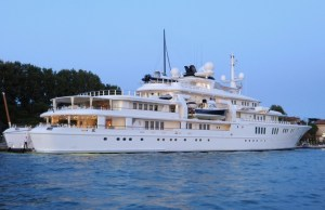 paul allens Super Yacht