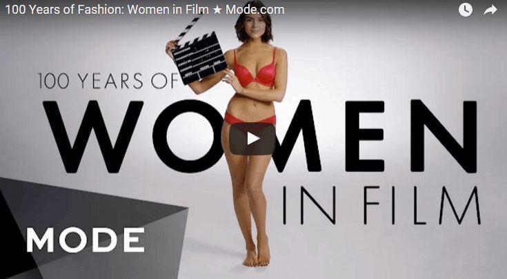 100 Years of Women's Film Fashion