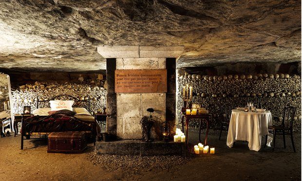 Paris Catacombs Airbnb: With 6 Million Dead Roommates
