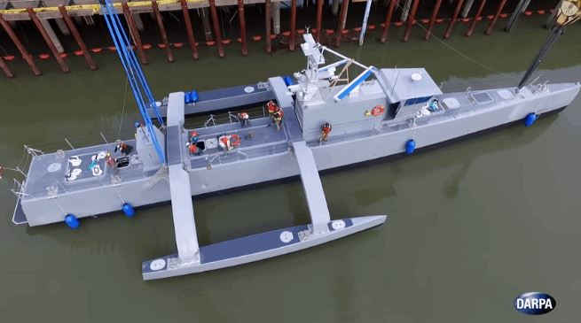 Sea Hunter, US Navy's New Autonomous Warship