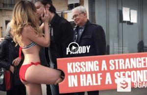 Kissing A Girl Prank