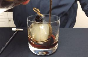 That's How You Can Make Smoke Filled Ice Ball