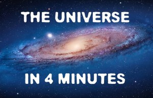4 Minute Crash Course on the Universe
