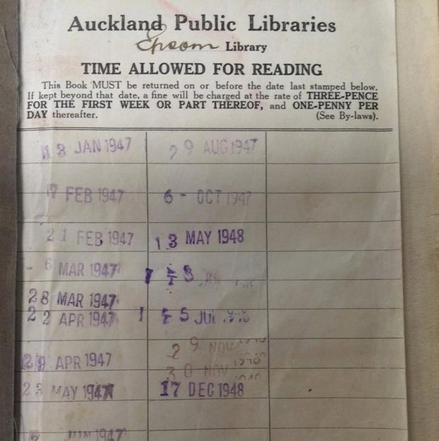 Woman Finally Returns The Book She Borrowed In 1948