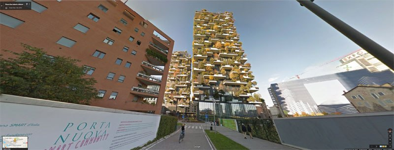 Vertical Forest Of Milan
