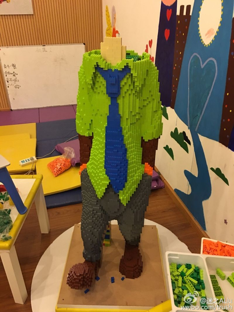 Zootopia LEGO Statue