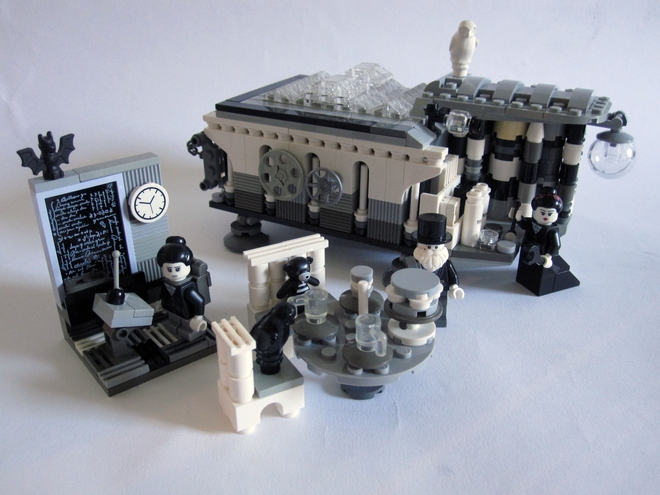 Monochromatic LEGO Set
