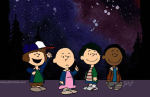 It's Charlie Brown's Stranger Things