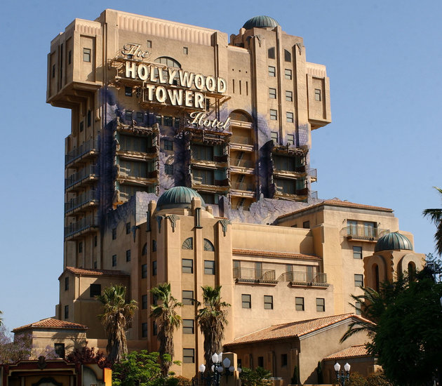 Disney's California Adventure Closing The Tower Of Terror